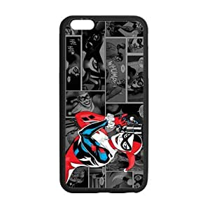 Harley Quinn, Custom iphone 6 plus (5.5 inch) Case Cover TPU Rubber for iphone 6 plus