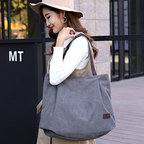 Spalla Messenger 2018 De Grande Capacità Borse Elegante Bag Grande Tracolla A Nuovo Donna Primavera shoulder Nclon Tela arancione Verde Bag XaZqwF