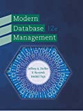 img - for Modern Database Management (12th Edition) book / textbook / text book