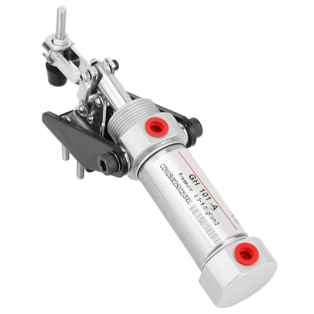 Professional Metal Cylinder Pneumatic Clamp Hold Down Clamp 1/8'' Inlet 50KG Air Toggle Clamp