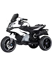 WHTBB Children Ride on Toy Car Kids Motorbike Motorcycle Electric Scooter Motor Bicycle 6V Battery Operated Toy Trike