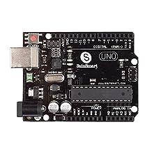 SainSmart UNO R3 ATmega328P Development Board + USB Cable Compatible With Arduino UNO R3 Mega 2560 Nano Robot