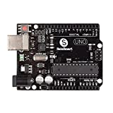 SainSmart Arduino UNO R3 ATmega328P Development Board with USB Cable - Compatible With Arduino UNO R3 Mega 2560 Nano Robot