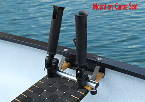 Brocraft Inflatable Boat Canoe Rod Holder With Aluminum