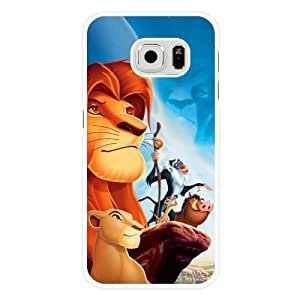 For HTC One M9 Case Cover Diy Disney The Lion King White Hard Shell For HTC One M9 Case Cover The Lion King Edge Case(Only Fit for Edge)