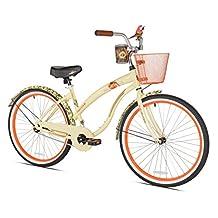 "Margaritaville First Look Women's Beach Cruiser Bike, 26"""