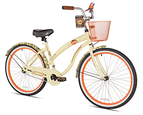 Margaritaville First Look Women's Beach Cruiser Bike, 26-Inch by Margaritaville