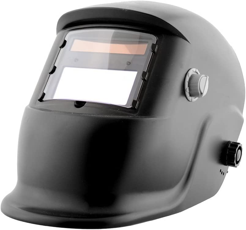Giantree Casco de oscilación automático del oscurecimiento Auto del Casco de Soldadura con la Cortina Ajustable de la Lente Ancha para la máscara del Soldador de la Soldadura al Arco de Mig TIG