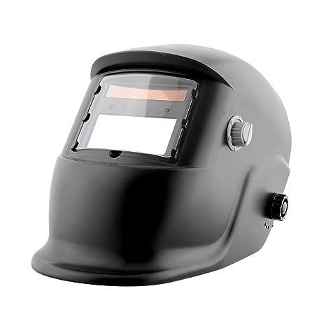 Giantree Casco de oscilación automático del oscurecimiento auto del casco de soldadura con la cortina ajustable de la lente ...