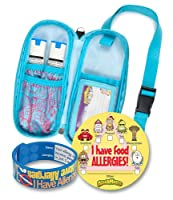 AllerMates 12418 Epi and Auvi Case with Wristband and 24 Stickers, Small