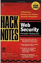 HackNotes(tm) Web Security Pocket Reference Paperback