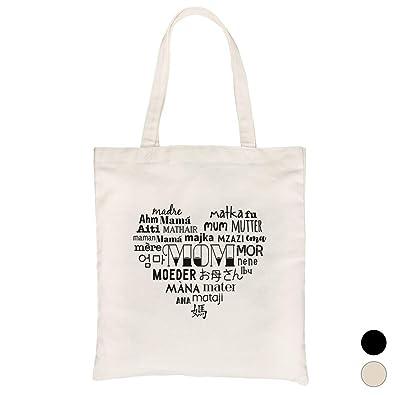 Amazon.com: 365 Impresión Mom Diferentes Idiomas Bolsa de ...