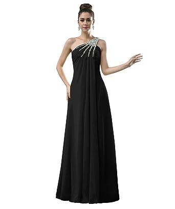 ca15d574694 Preferhouse Women s Formal Dress Long Evening Gown A-Line Beaded US2 Black