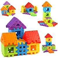 Sartham, Building Block Toy for Kids, Age 3+, Multicolor (30 Blocks)