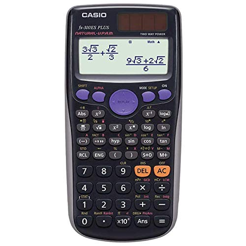 Casio Exam Approved Scientific Calculator: Homework/Classwork - Black