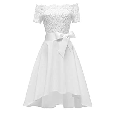 Robe cocktail mousseline amazon