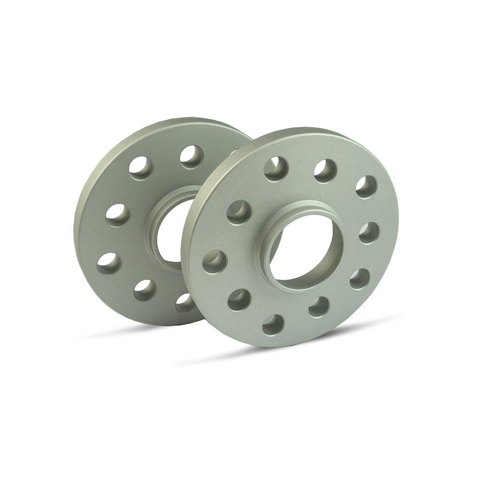 LK: 98//5+1 NLB: 58,1-15mm 2 St/ück silber eloxiert SCC Spurverbreiterung 12109E