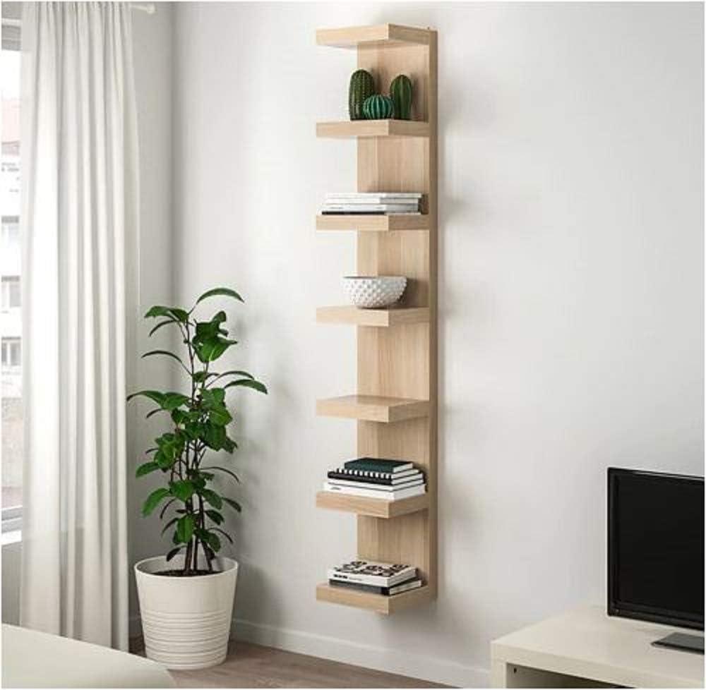 Lack IKEA - Estantería de pared con efecto de roble manchado ...