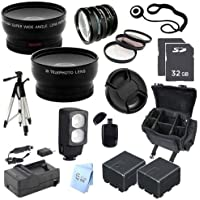 ULTRA ACCESSORY PACKAGE: for Panasonic 32GB HC-X900M 3D Ready Full HD Camcorder
