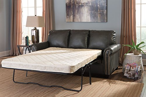Ashley Furniture Signature Design - Lottie DuraBlend Sleeper Sofa Bed - Full Sized Pull Out Couch - Slate