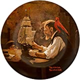 Norman Rockwell Ship Builder Plate