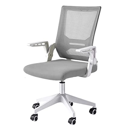 Amazon.com: XUERUI Swivel Chair Adjustable Mesh Home Office Chair,  Ergonomic Rolling Desk Chairs With Lumbar Support Arms Computer (Color :  Gray): Kitchen U0026 ...