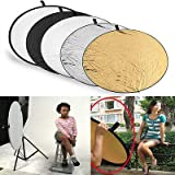 FidgetFidget 5 in1 Light Mulit Collapsible Disc Photography Panel Reflector Diffuser Useful
