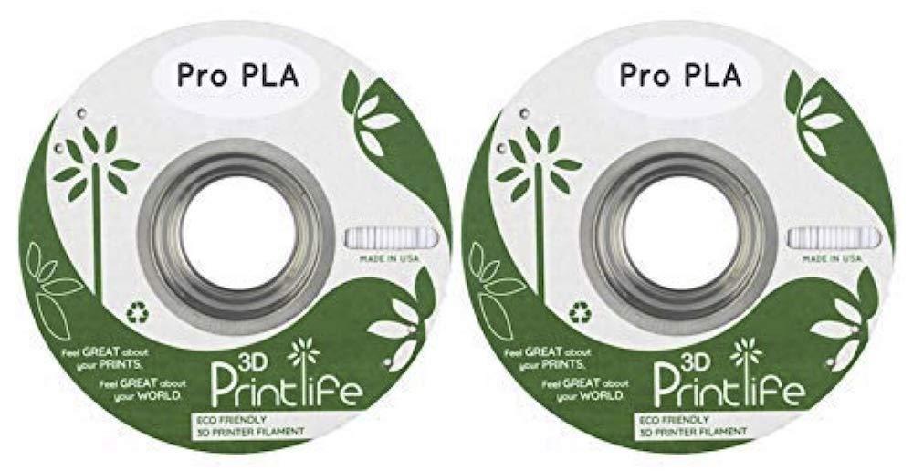 3D Printlife 2 Carretes De Filamento Incluido con el FlashForge ...