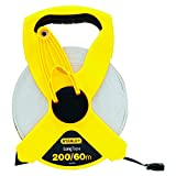 STANLEY 34-794 60m/200-Foot Open Reel Fiberglass Long Tape Rule