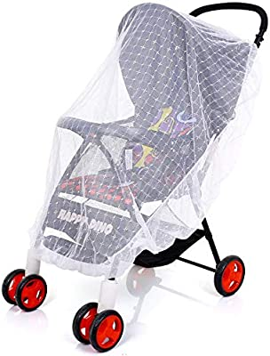 Universal Pram Mosquito Net Buggy Stroller Pushchair Bug Insect Car Seat Mesh