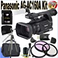 Panasonic AG-AC160A AVCCAM HD Handheld Camcorder 32GB Package from Panasonic