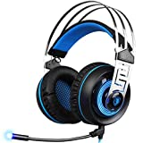 Livoty SADES A7 3.5 Stereo Surround Gaming Headset Headband MicHeadphone
