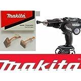 10 X MAKITA CB440 CARBON BRUSHES 194427-5 BTD146 BDF458 BHP458 DRILL (5 PAIRS)