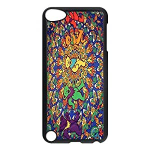 SUUER Creative Article Series Grateful Dead Psychedelic Personalized Custom Plastic Hard CASE Back Fits Cover Case for iPod Touch 5, 5G (5th Generation)