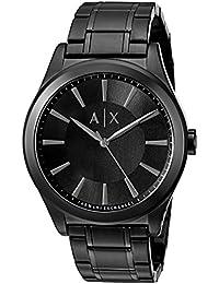 Armani Exchange Men's 'Smart' Quartz Stainless Steel Automatic Watch, Color:Black (Model: AX2322)