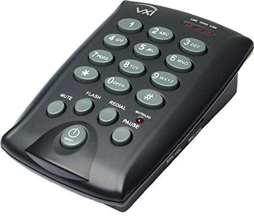 VXi 202922 D200 Dialpad Single-Line Telephone For Use with Communications Headsets