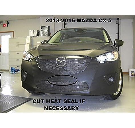 Lebra Covercraft Custom Fit Front End Cover for Mazda 6 Vinyl, Black