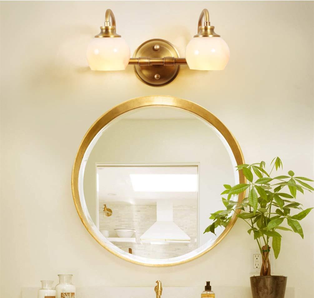 PANGU-ZC Mirror Headlights - Simple Home Mirror Headlights Bathroom Creative Exquisite and Durable Mirror Headlights -8754Spotlights (Color : A)