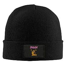 Gdlov Scooby Doo Family Man Women Unisex Winter Warm Acrylic Watch Knit Wool Beanie Cap Hat Size US Black