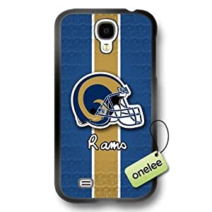 NFL St Louis Rams Logo For Case Ipod Touch 4 Cover Black Hard(PC) Soft - Black
