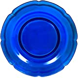 Mikasa French Countryside Cobalt Glass Charger Serving Platter, 13-Inch