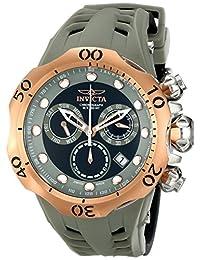 Invicta Men's 16994 Venom Analog Display Swiss Quartz Black Watch
