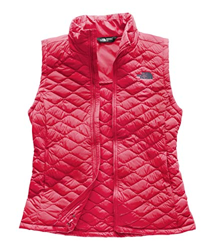 (The North Face Women's Thermoball Vest - Teaberry Pink - M)