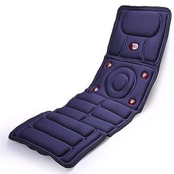 Amazon.com: Cojín masajeador de cuerpo completo con colchón ...