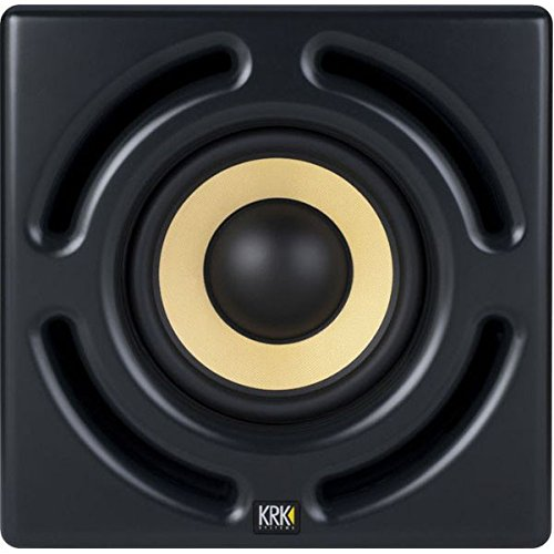 KRK 12sHO 400 Watts 12-Inch Powered Studio Subwoofer by KRK