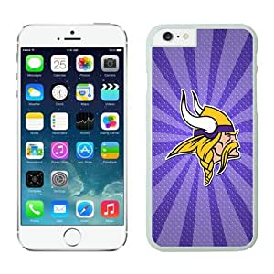 Iphone 6 Cover Case Minnesota Vikings iPhone 6 4.7 Inches Cases 05 White TPU Protective Phone Case