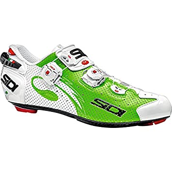Zapatillas Sidi Wire Carbon Air Verde-Blanco 2016: Amazon.es: Deportes y aire libre