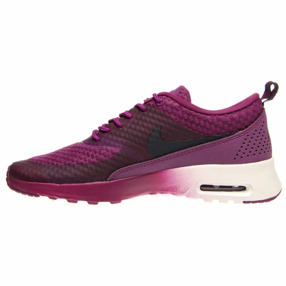 huge selection of 36620 0791e Amazon.com   NIKE Women s Air Max Thea Premium Running Shoes. Size 10. BRIGHT  GRAPE OBSIDIAN-METALLIC SILVER WHITE   Road Running