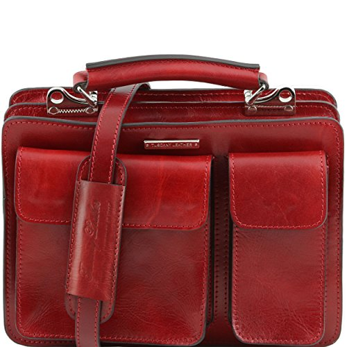 Tuscany Leather - Serviette cuir - Rouge