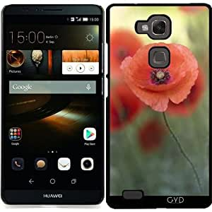 Funda para Huawei Ascend Mate 7 - Amapolas En Morninglight by UtArt